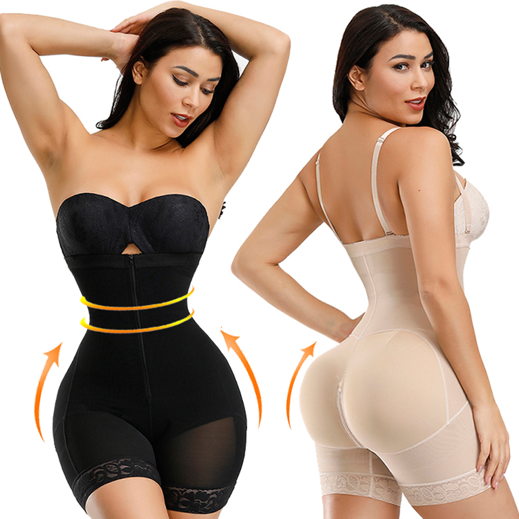 2019 Great Quality Hot Selling Wholesale In Stock High Quality Butt Lifter Women Full Body Shaper Sexy Bodysuits for Women