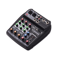 Superior Quality Best Mini Dj Midi Mixer Mic With Bluetooth USB
