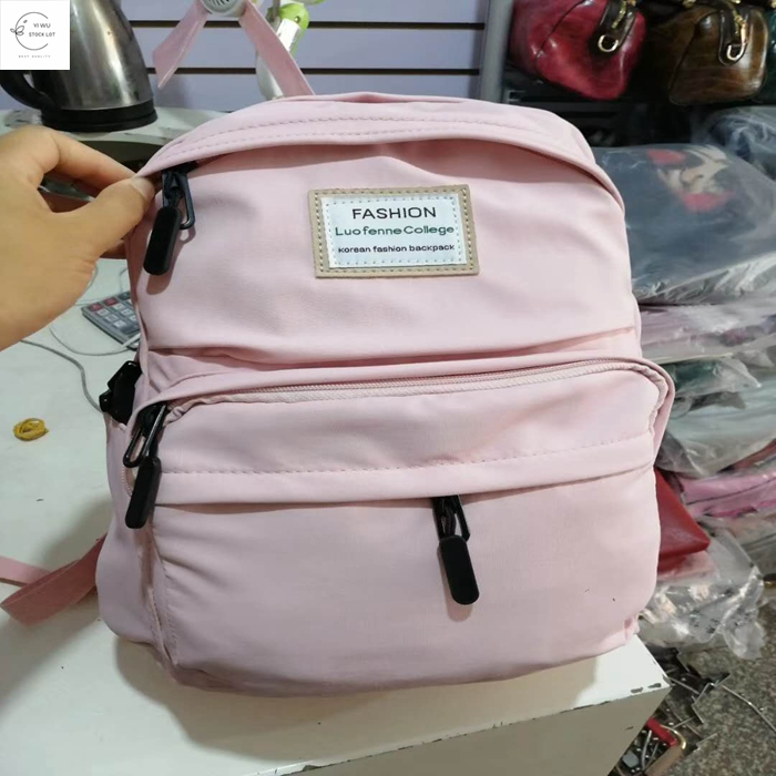 High quality wholesale cheap price china yiwu schoolbag stock