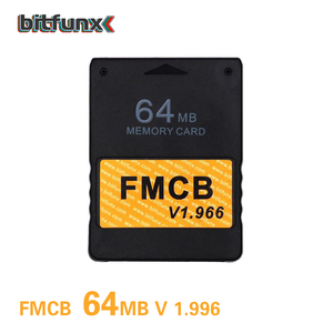 Game card 64MB Mod OPL HD Free McBoot FMCB v1.966 Memory Card Cards for Sony Playstation 2 PS2