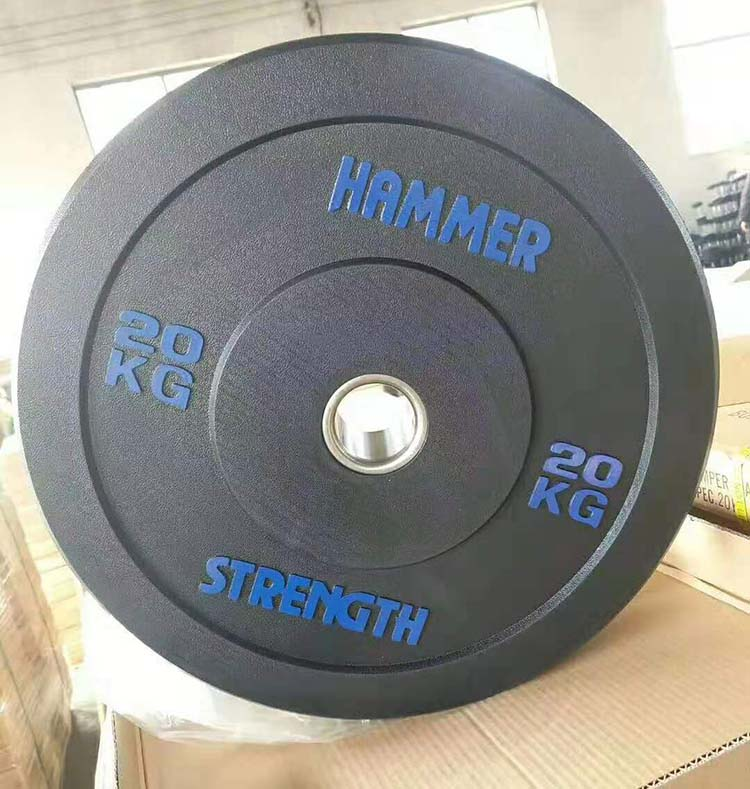 Wholesale Competition colorful rubber barbell plates Power Bumper barbell <strong>weight</strong> Plates