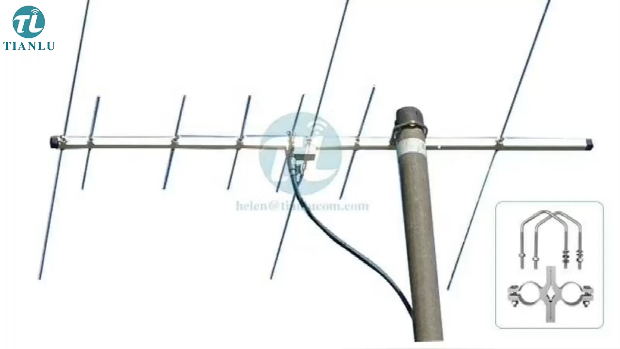 Outdoor 144-146/430-440mhz vhf/uhf dual band directional yagi antenna,dual band yagi diamonds outdoor antenna