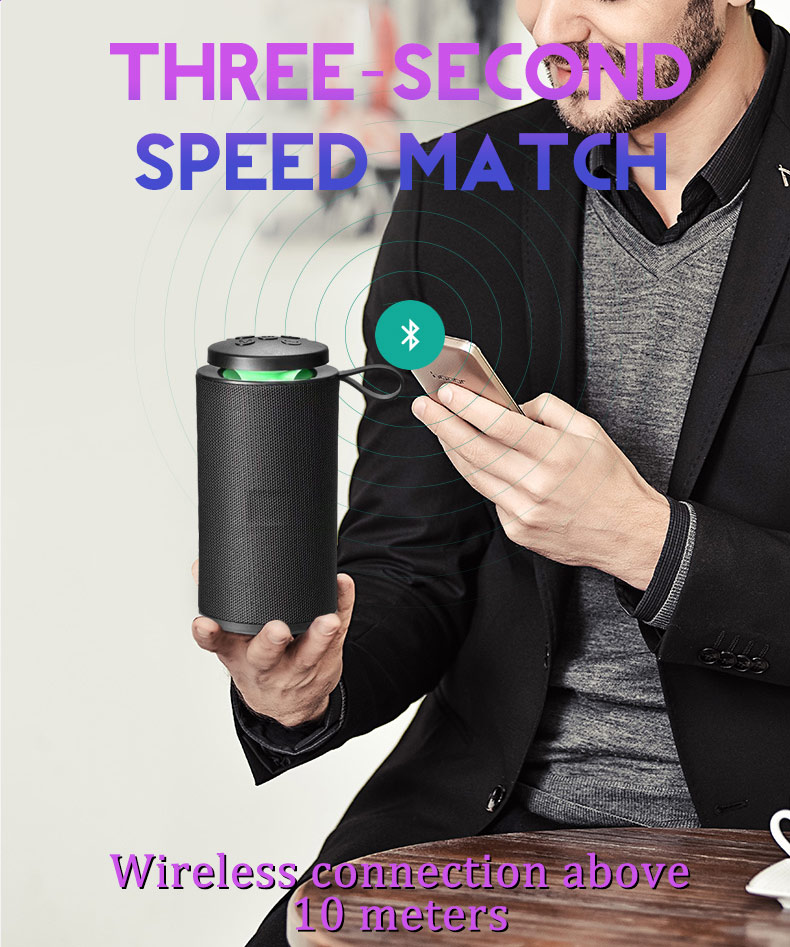 portable bluetooth speaker wireless feixin 10 Years OEM Manufactory Mobile Phone Accessories car smart subwoofer dj speaker box