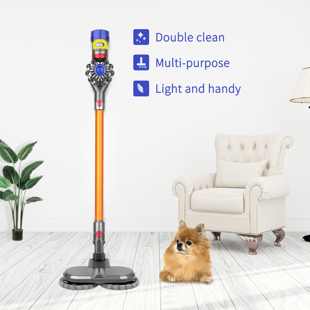 High Efficiency Cleaning Dysons V7 V8 V10 V11 Vacuum Cleaners Dry and Wet Mop Head