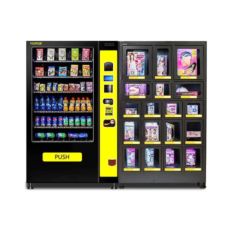Hot Sale OEM/ODM Custom made lattice cabinet master slave vending machine with good quality