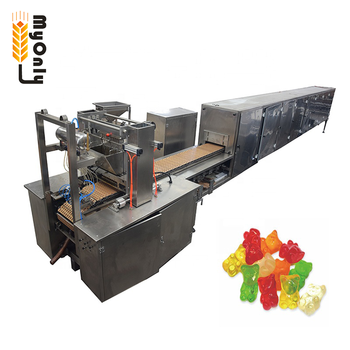 soft chewy fruit candy machine / gummy candy sugar coating machine