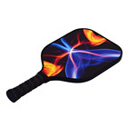 Quality Guarantee Premium Customized Sports Graphite Pickleball Carbon Fiber Paddle With Bag