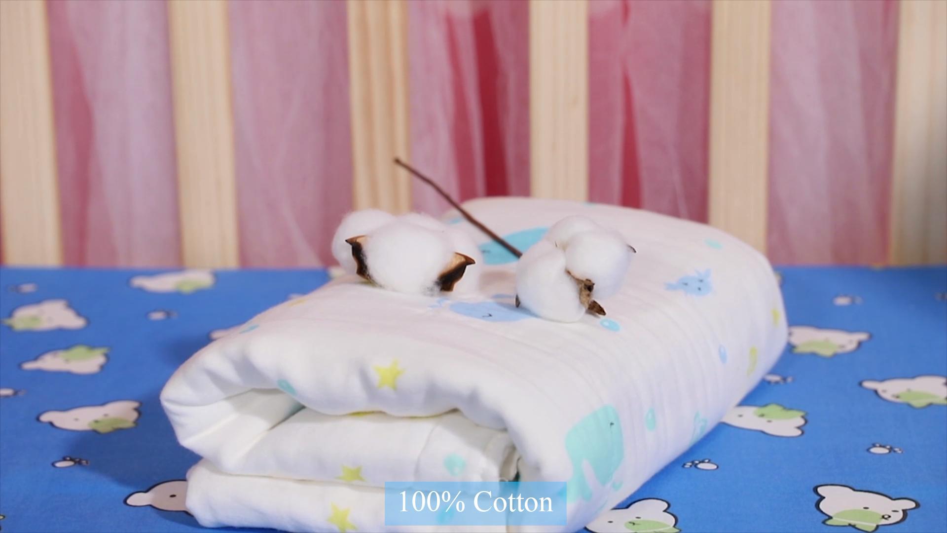 Bayi Cetak Lembut Bayi Handuk Untuk Anak Laki-laki Dan Perempuan Handuk Mandi Kapas Handuk Bayi