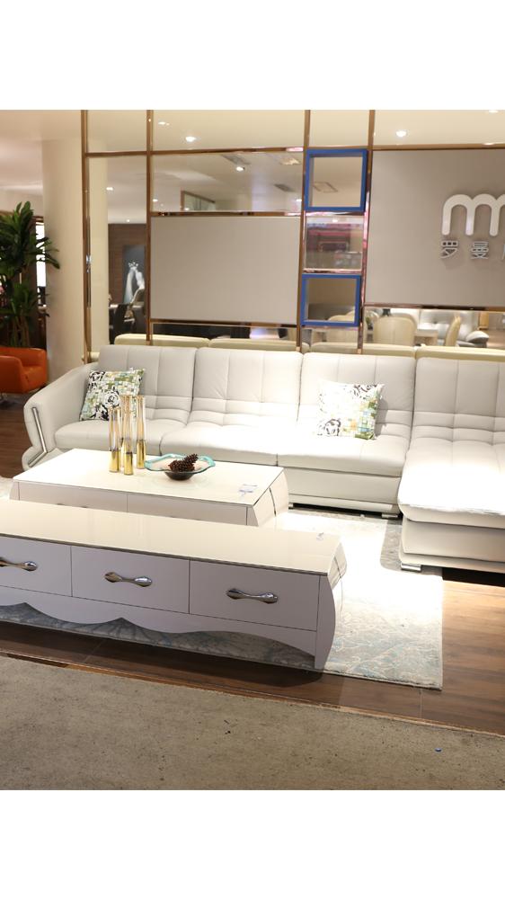 Wohnzimmer hotel verwenden leder sofa set moderne schnitts möbel