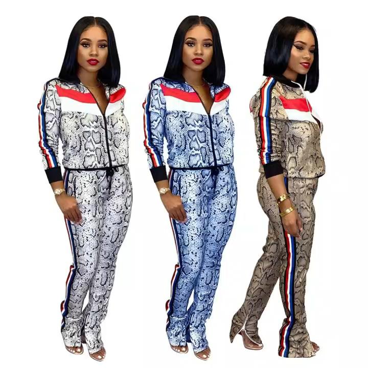 The new design of Women's stripes sexy fashionable sportswear custom sportswear