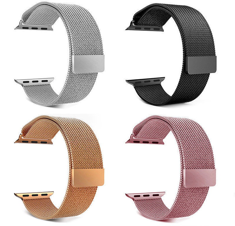 Apple Watch Band Manufacturer Fashion 32Mm Apple Watch Stainless Steel Mesh Chain Band