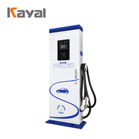 KAYAL 65Hz 90A Single Gun EV charging station 40kw charger for electric vehicle car