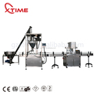 Bottles [ Systems ] Coffee Weigh And Fill Machine Automatic Filling Machine For Powder Weighing Packing Systems Auger Coffee Powder Filler