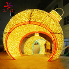 Lights Christmas Arch Door Motif Lights Commercial Arch Door Ball Motif Lights Christmas Decoration