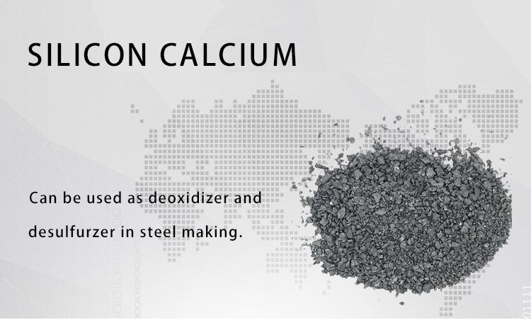 Deoxidizer कैल्शियम सिलिकॉन मिश्र धातु/Casi Cored तार कैल्शियम Formate