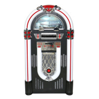 bluetooth jukebox with turntable and CD player