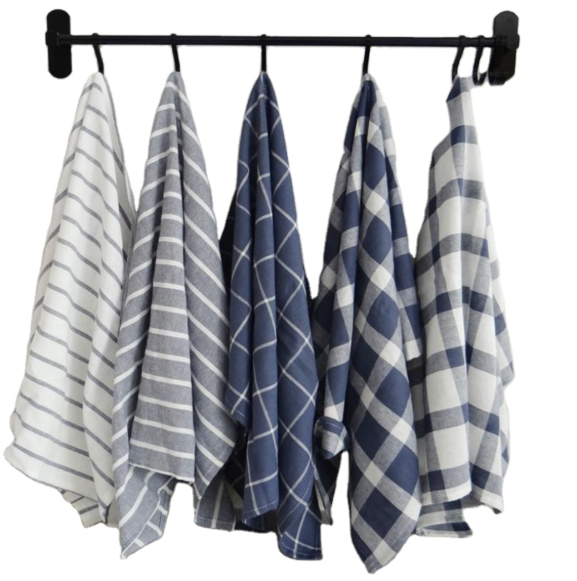 dish towel,12 Pieces, Gray,black,white