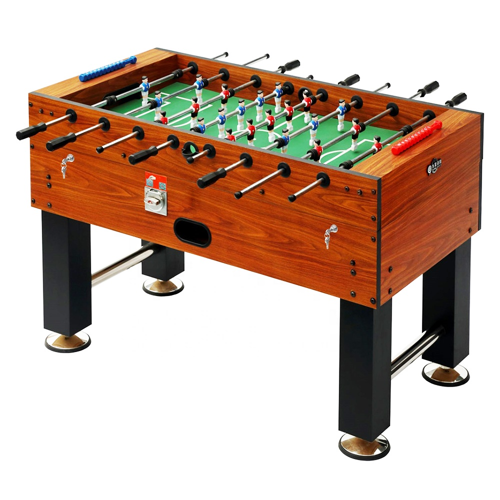 Coin Operated Indoor Sport Voetbal Top Tafel Games Machine 55 inch Voetbal Tafels Hot Verkoopt