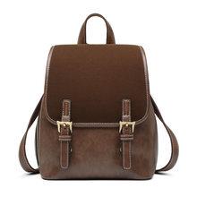 Женский рюкзак FOXER в английском стиле из воловьей кожи в стиле ретро, Женский деловой рюкзак для студентов, Большая вместительная школьная с...(Китай)