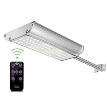 Fernbedienung 70 LED Solar Lampen 1100 Lumen Outdoor Radar Motion Sensor Solor licht 5 modus