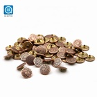 SK Flower Snap Buttons Press Metal Closing Buttons Fasteners For Coat Clothing