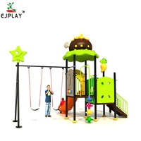 New Product School Garden Child Toy Big Slide Equipment Outdoor Playground for Kids