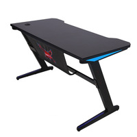 Hot Sell Z-Shaped PC Gaming Table Computer Office Desk