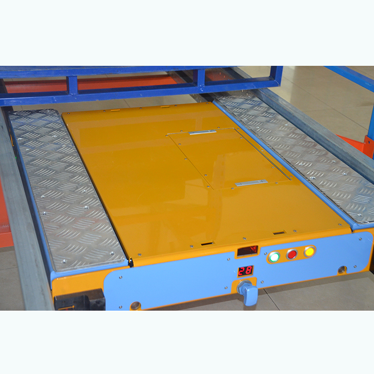 Automated Warehouse Storage Radio Shuttle Pallet Racking System For High Density Warehouse