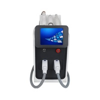 nd yag laser korea double crystal / nd yag ipl hair removal device / ipl hair remval opt shr ipl hair removal manual rf machine