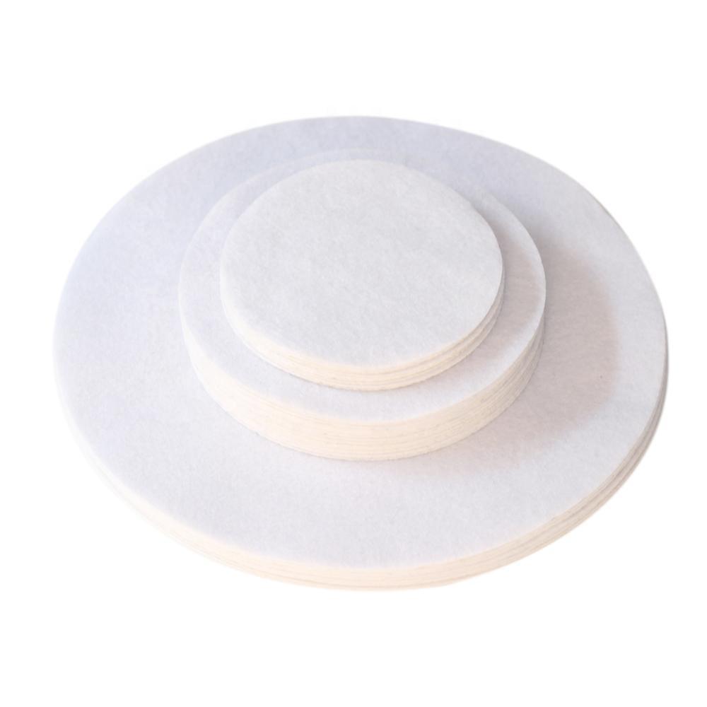 "Kitchen Usage 48 Sheets / lot Soft White Felt Plate Dividers 12x10"", 24x6"", 12x4.5"" ( Set of 48 )"