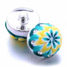 10 шт./лот, оптовая продажа, 30 стилей, 18 мм, ювелирный браслет и браслеты, очаровательный цветной глиняный браслет для женщин, ювелирные издели...(Китай)