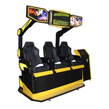 Pretpark Product 3 set 5D 7D 9D Cinema vr <span class=keywords><strong>games</strong></span> simulator