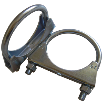 In stock China best quality GRWA universal u bolt exhaust Pipe clamp