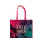 Made Hand Bags Custom Made Full Color Printed Custom Non-woven Boutique Hand Shopping Bags