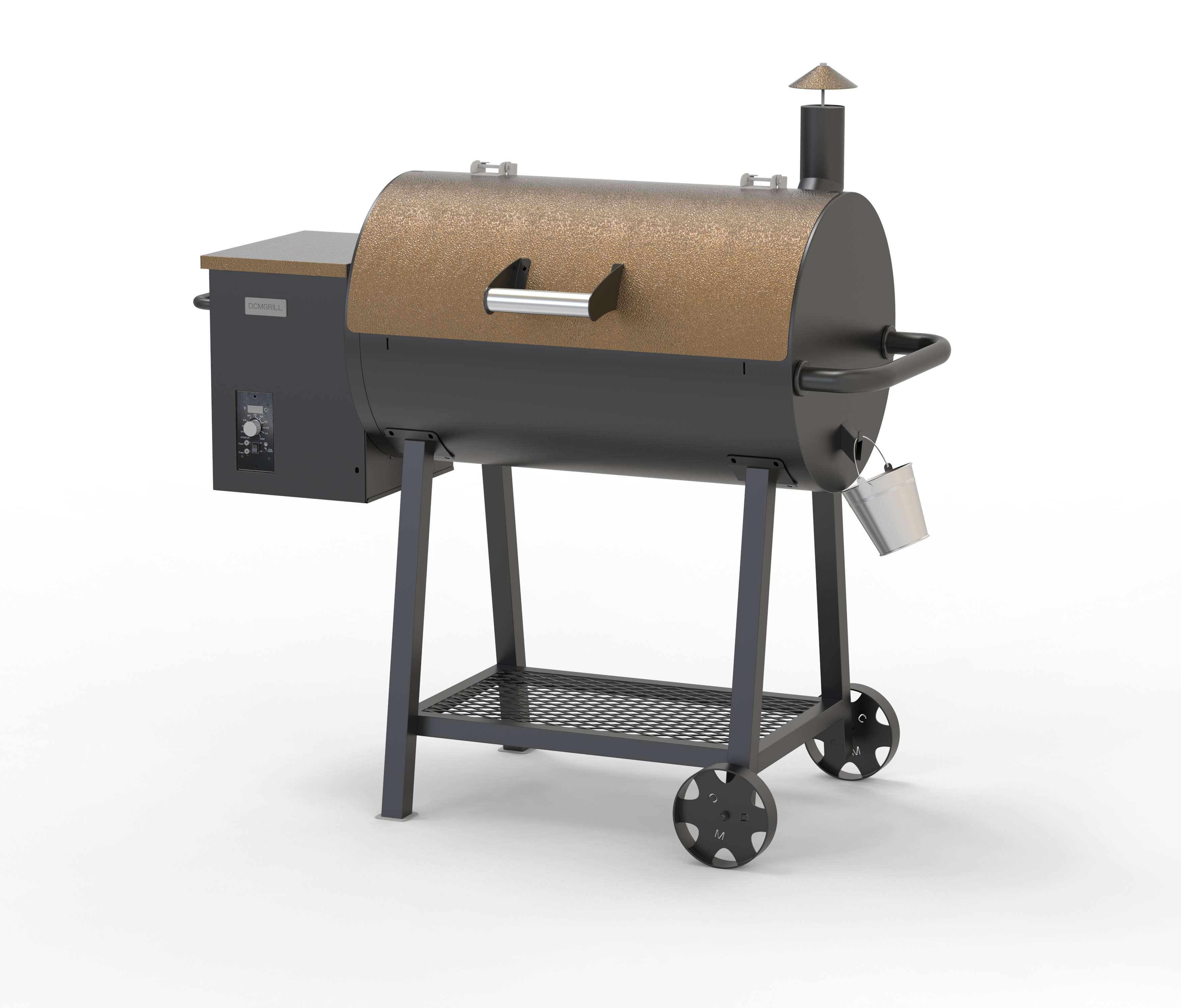 custom outdoor barbecue electric portable small bbq wood fired <strong>fish</strong> pellet make <strong>grill</strong> kit <strong>machine</strong> and smoker with pid controller