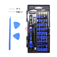 PC Laptop Mobile Phone Compact Repair Maintenance Kit,60 in 1 Precision Screwdriver Tool Kit Magnetic Screwdriver Set