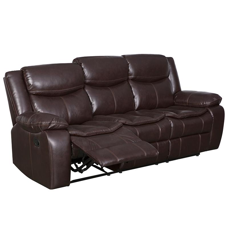 Henglin Hot Sale perabot ruang keluarga Power Kursi satu kursi sofa Rumah nyaman Kursi sofa kulit Dari Anji Pabrik