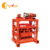 QTJ4-40 manual concrete block brick making machine line price
