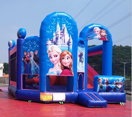 Fun inflatable bouncers combo vinyl bounce house inflatable bouncers for kids