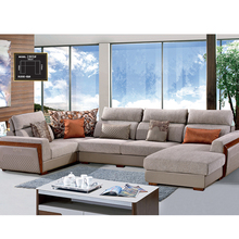 Professionelle fabrik funktionale stoff u form home möbel couch wohnzimmer sofa made in China