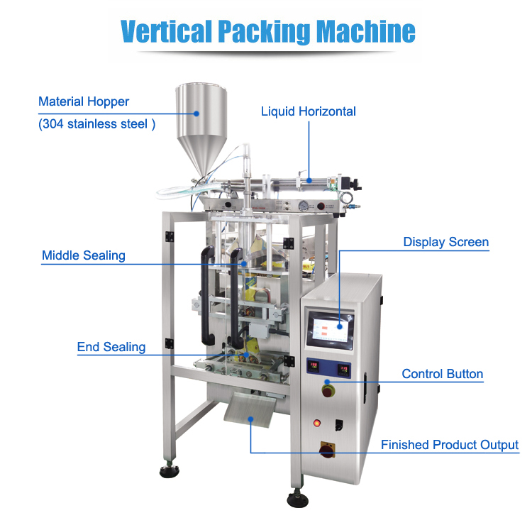 Automatic Edible Sunflower Oil Packaging Machine
