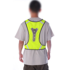 Transparent Lamp Cap Luminous Hi Vis Safety Reflective Vest Cycling LED Glow Vest For Running