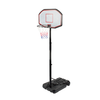 Portable outdoor basketball system height adjustable basketball hoop stand
