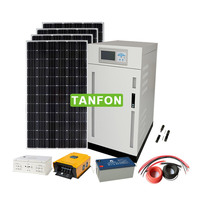 solar energy battery off grid solar inverter 30kw 3kw solar system rural area for home for house for family use for household