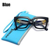SOOLALA, анти-синий светильник, блокирующие очки для чтения, для женщин и мужчин, Lentes De Lectura Mujer, 0,5, 0,75, 1,0, 1,25, 1,5, 1,75, очки для пресбиопии(Китай)