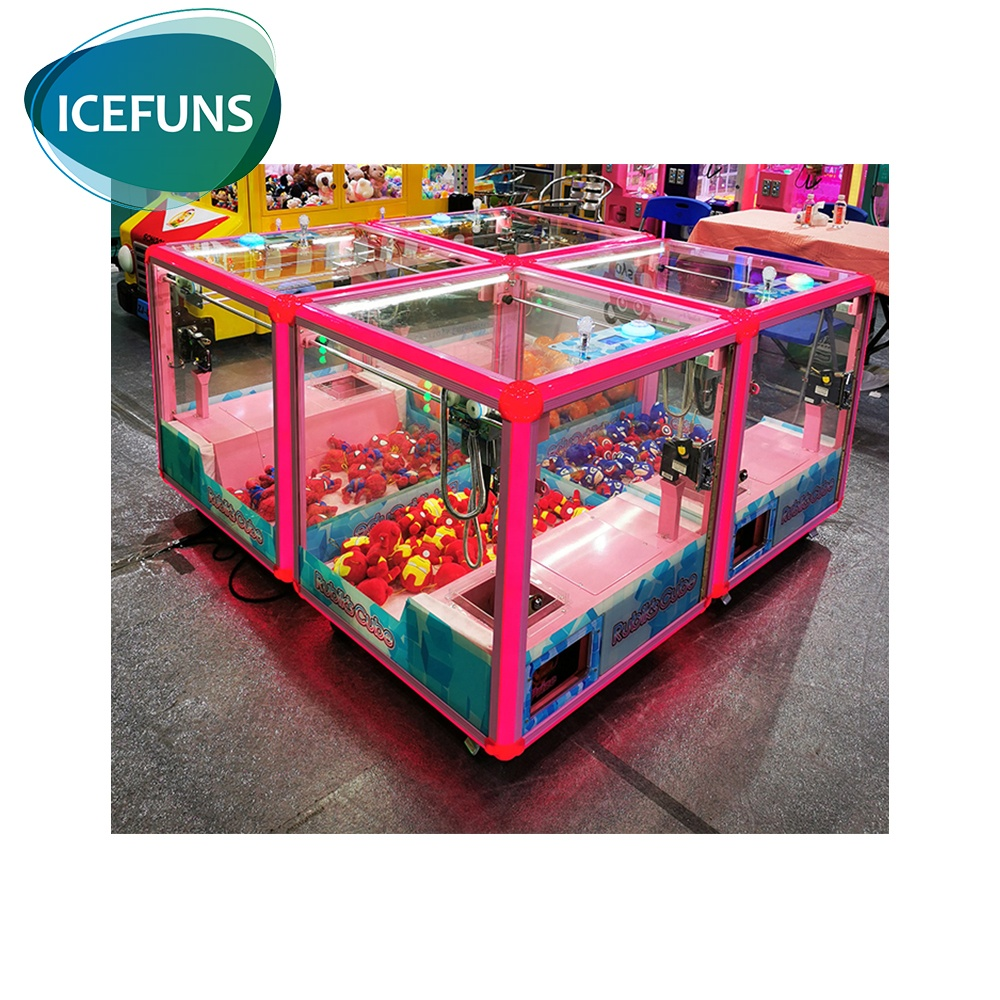 Best Verkopende Product Coin Operated Magic Cube Mini Klauw Machine Voor Game Center