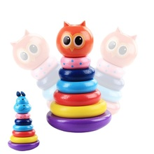 Houten uil hippo baby <span class=keywords><strong>Intellectuele</strong></span> ontwikkeling educatief trumbler speelgoed