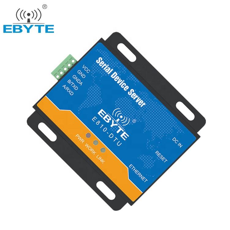 Ebita Serial Server Fiberopticequipment E810-DTU (RS485)-V2.0 RS485 Serial untuk Ethernet Converter Peralatan Serat Optik
