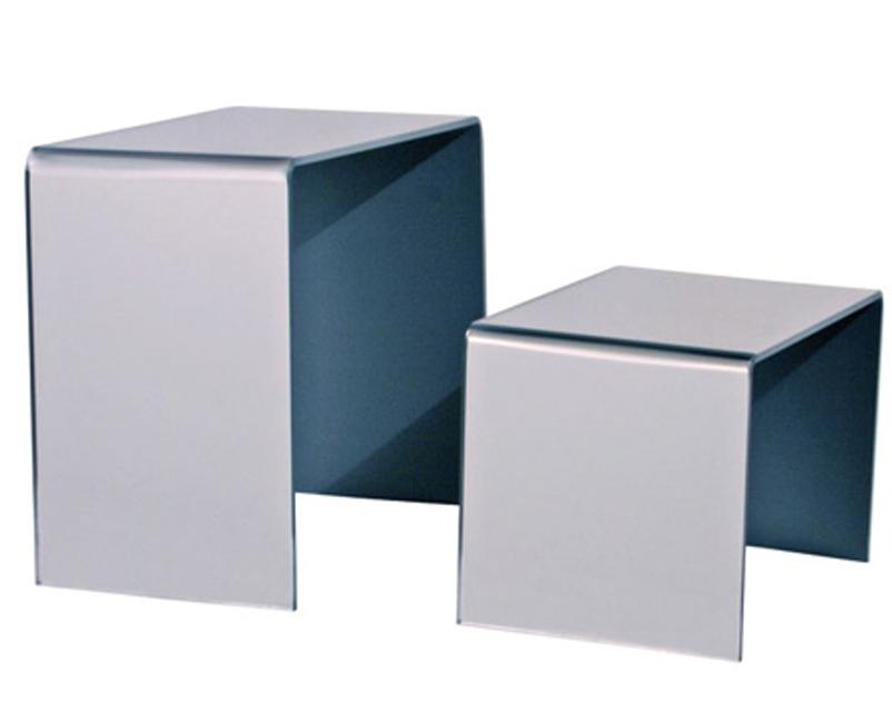 Acrilica Perspex Scarpa RISER//Set di 3 Zoccoli di visualizzazione//Gioielli Display Stand