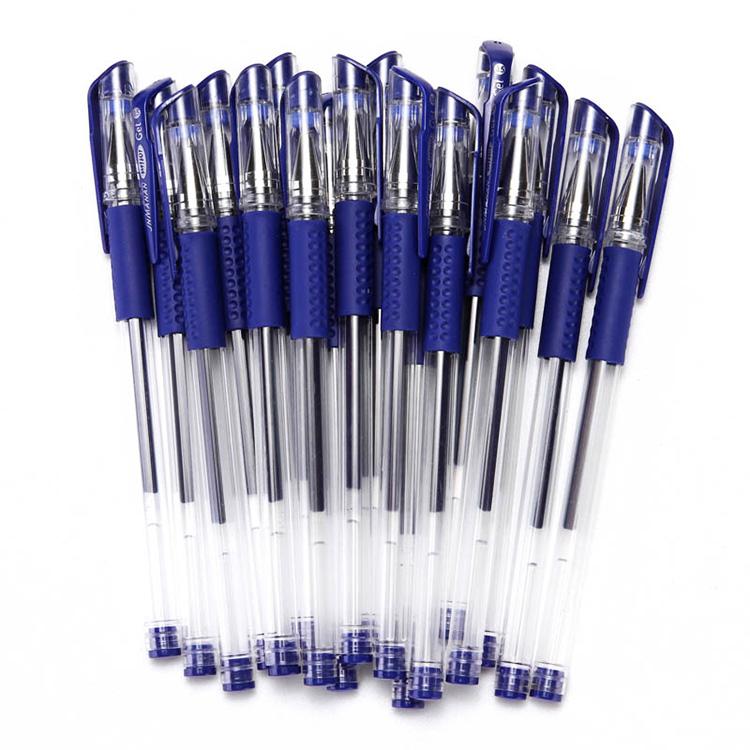 Los suministros de oficina se pueden personalizar y al por mayor, bolígrafo neutral de 0,5mm, bolígrafo de escritura para estudiantes con cabezal de bala